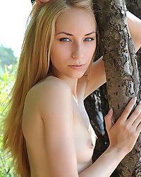 Perfect teen model