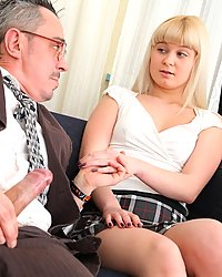 This tricky old teacher just cant get enough pussy. Now hes got his eyes on Candy!