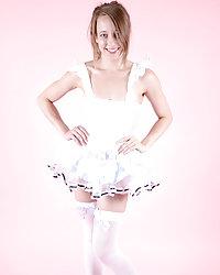 Jamie plays dress up as a sexy Alice